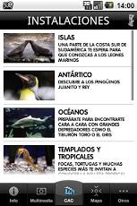 Aplicación del Oceanografic Valencia
