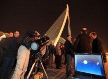 Observación astronomica en Oceanografic Valencia